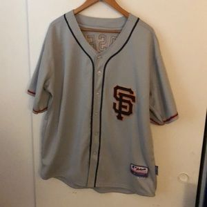 San Francisco Giants Buster Posey Jersey